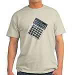 Humor Calculator Awesome Light T-Shirt