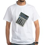 Humor Calculator Awesome White T-Shirt