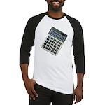 Humor Calculator Awesome Baseball Jersey