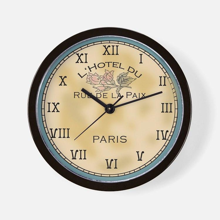 Simply Beautiful Paris Inspired Wall Clock