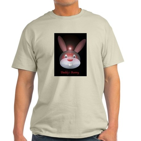 Goth Bunny Ash Grey T-Shirt