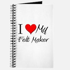 I Heart My Felt Maker Journal
