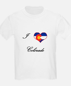 I Love (Heart) Colorado T-Shirt