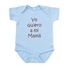 Yo Quiero a Mi Mama Infant Bodysuit