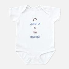 Yo Quiero Mi Mama Infant Bodysuit