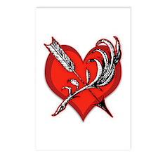 Heart & Arrow Postcards (Package of 8)