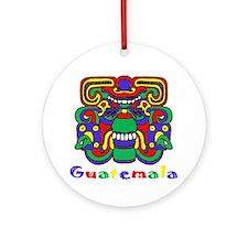 Mayan Guatemala Ornament (Round)