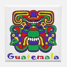 Mayan Guatemala Tile Coaster