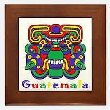 Mayan Guatemala Framed Tile