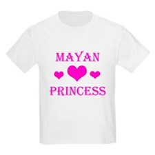 Mayan Princess Kids T-Shirt