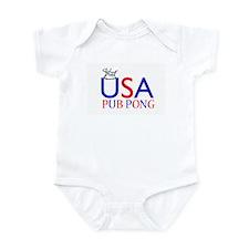USA Pub Pong Infant Bodysuit