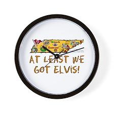 TN-Elvis! Wall Clock