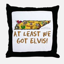 TN-Elvis! Throw Pillow