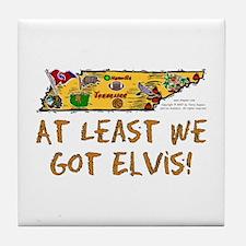 TN-Elvis! Tile Coaster