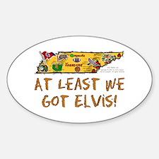 TN-Elvis! Oval Decal