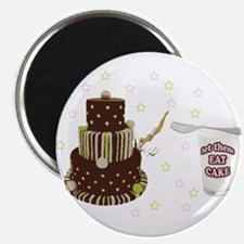 "Let Them Eat Cake 2.25"" Magnet (10 pack)"