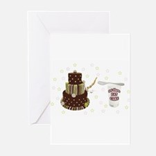 Let Them Eat Cake Greeting Cards (Pk of 10)