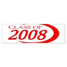 Class of 2008 Bumper Bumper Sticker