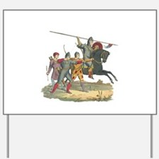 Norman Knight & Archers Yard Sign