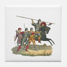Norman Knight & Archers Tile Coaster