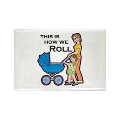 Roll 5 Rectangle Magnet (10 pack)
