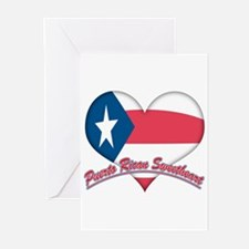 Puerto Rican Sweetheart Greeting Cards (Package of