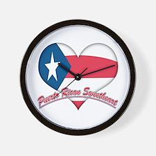 Puerto Rican Sweetheart Wall Clock