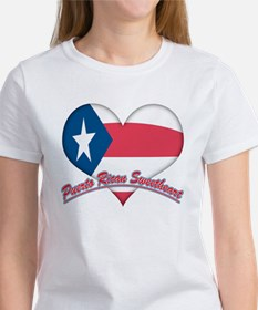Puerto Rican Sweetheart Women's T-Shirt