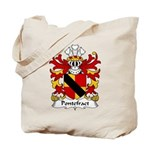 Pontefract Family Crest Tote Bag
