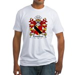 Pontefract Family Crest Fitted T-Shirt