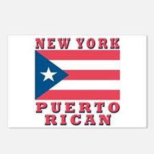 New York Puerto Rican Postcards (Package of 8)