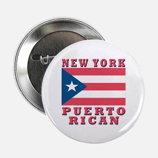 New York Puerto Rican Button