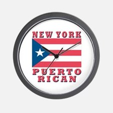 New York Puerto Rican Wall Clock