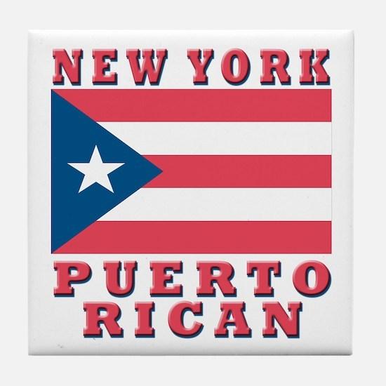 New York Puerto Rican Tile Coaster