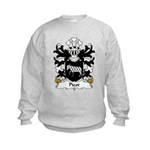 Picot Family Crest Kids Sweatshirt