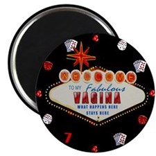 """What Happens in My Vagina 2.25"""" Magnet (10 pack)"""