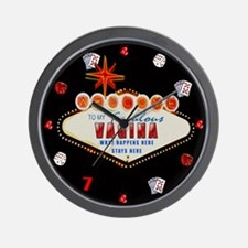 What Happens in My Vagina Wall Clock