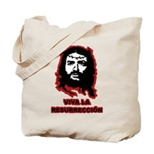 Viva La Resurreccion (red glow) Tote Bag