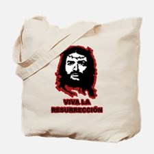 Viva La Resurreccion (red glow) Tote Bag