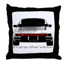 "911sc ""Enjoy the view."" Throw Pillow"