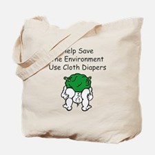 Use Cloth Diapers Tote Bag