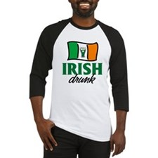 Irish Drunk Baseball Jersey