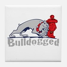 Bulldogged Tile Coaster