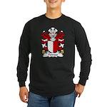 Penrees Family Crest Long Sleeve Dark T-Shirt