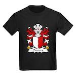 Penrees Family Crest Kids Dark T-Shirt