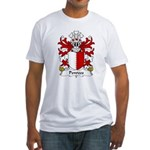 Penrees Family Crest Fitted T-Shirt