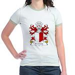 Penrees Family Crest Jr. Ringer T-Shirt