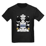 Penmarch Family Crest Kids Dark T-Shirt