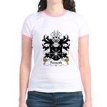 Penarth Family Crest Jr. Ringer T-Shirt