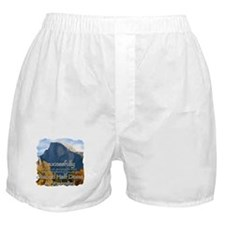 Cute Funny hiking Boxer Shorts